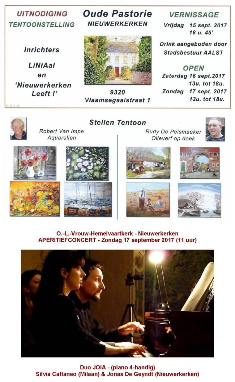 Uitnodiging activiteiten kermis Nieuwerkerken 2017