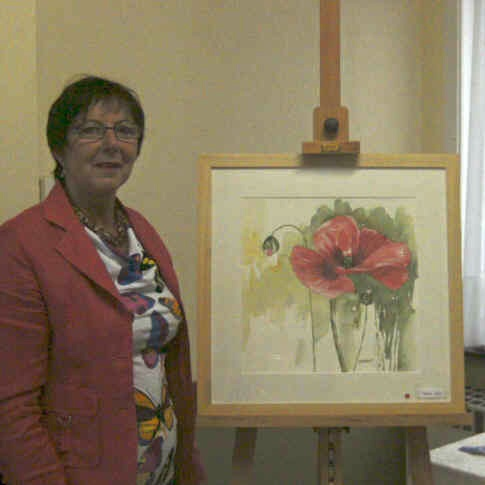 Marie-Paule De Pauw - Opening tentoonstelling vrijdag 14 september 2012 - Dorp 17 -  9320  Nieuwerkerken