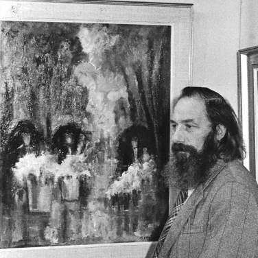 Tentoonstelling LiNiAal, Maurice Eeckhout, september 1977