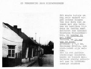 Wandeling 11 mei 1980