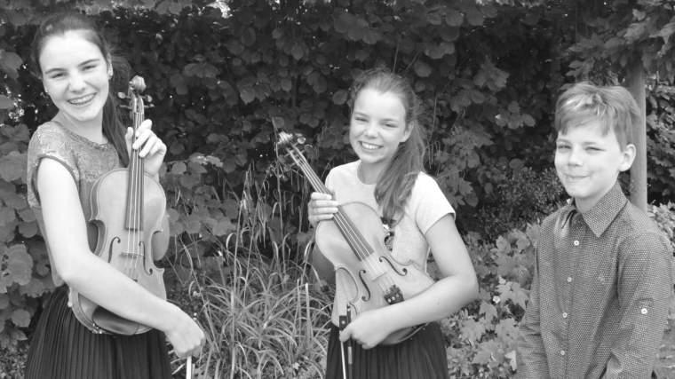 Eline, Sarah en Ruben Vanderpijpen