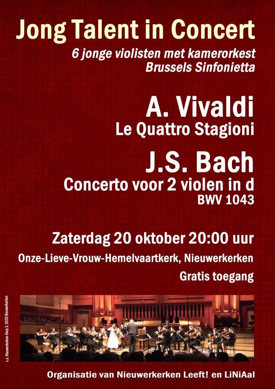 Concert 20 oktober 2018