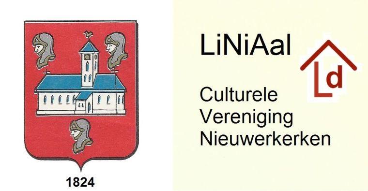 Logo LiNiAal digitaal met wapenschild van Nieuwerkerken en icon van LiNiAal digitaal - Ontwerp & design: Raymond De Geyndt, webmaster LiNiAal digitaal © 1977-2017 Digitaal archief van LiNiAal, culturele vereniging Nieuwerkerken