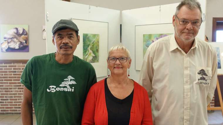 Tentoonstelling kermis 2018 - Domingo Solo - Chris Chiau - William Herremans